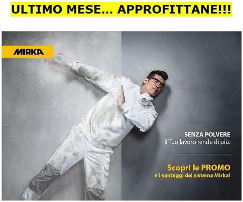 Ultimo mese di promozione sui prodotti Mirka! Scopri quali da Milano Color