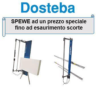Dosteba: SPEWE ad un prezzo speciale fino ad esaurimento scorte solo da Milano Color