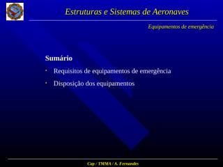 7-Equip.Gerais e de Cabina.ppt