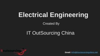 Electrical Engineering - IT Outsourcing China.ppt