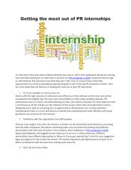 Getting the most out of PR internships.pdf