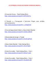 129 vídeos do Padre Rodrigo Maria.pdf