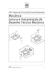 Leitura e Interpretação de Desenho Técnico Mecânico - Senai ES.pdf