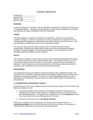 Contingent Liability Policy.doc