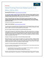 Metal Finishing Chemicals Market.pdf
