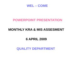 QUALITY March-09.ppt
