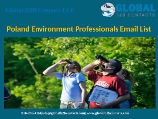 Poland Environment Professionals Email List.pptx