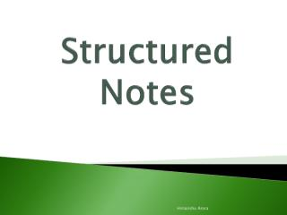 Structured Notes.pdf