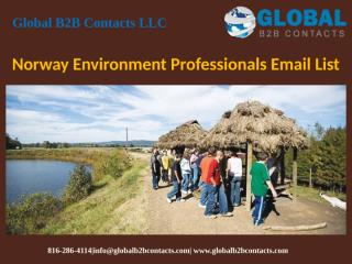 Norway Environment Professionals Email List.pptx