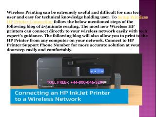 How to Setup Wireless HP Printer Connection.pdf