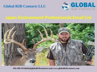 Japan Environment Professionals Email List.pptx